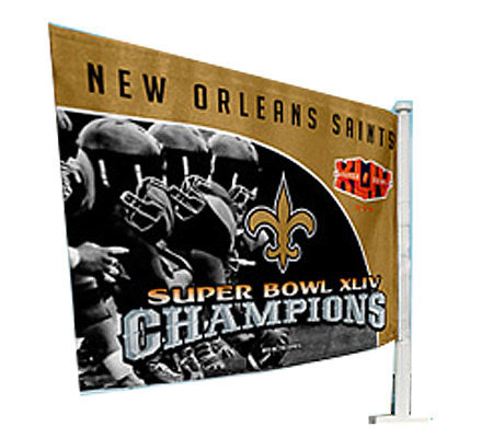 nfl new orleans saints super bowl xliv champions truck