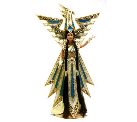 Barbie Bob Mackie Moon Goddess Barbie Box # 14105 Value ...