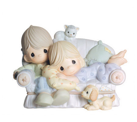 Precious Moments Together Is the Nicest Place to Be Figurine