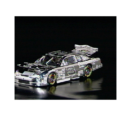 Dale Earnhardt 75th Win Platinum 1:24 Die-Cast Car