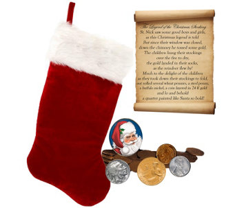 The Legend of the Christmas Stocking Coin Collection - C214133