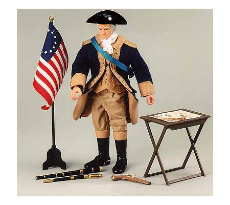 gi joe classic collection general george washington. Black Bedroom Furniture Sets. Home Design Ideas