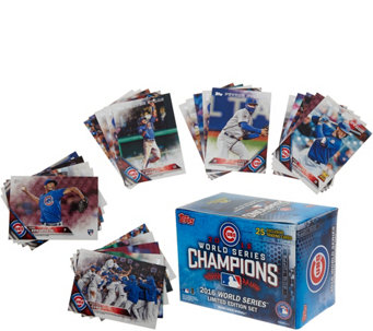 2016 World Series Champions Chicago Cubs 25 Card Set - C20141