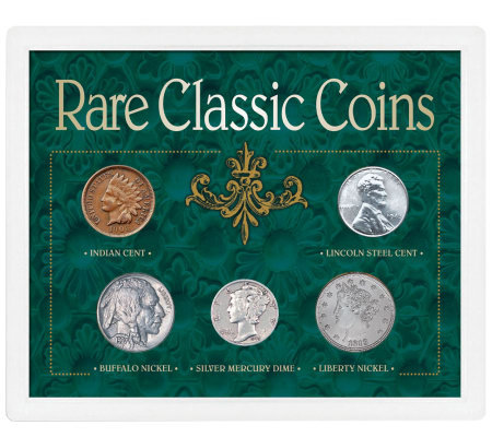 Rare Classic Coins Collection
