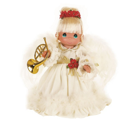 Precious Moments The Sounds of Christmas Doll