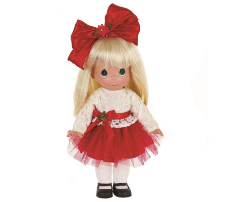 Precious Moments Krissie Kringle Doll