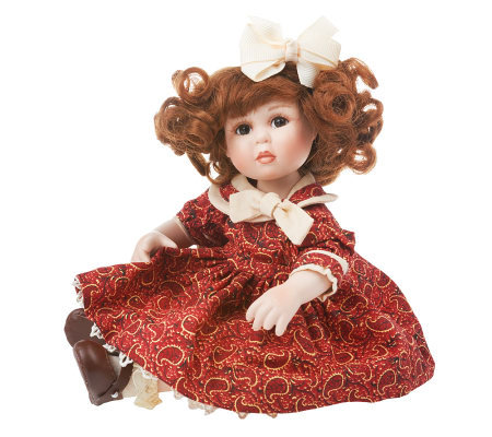 Falling for You Tiny Tot Doll with Floating Heart Charm by Marie Osmond
