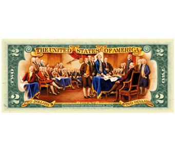Colorized $2 Bill - C213759