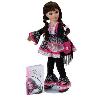 Journey A Passion for Pink Porcelain Doll by Marie Osmond