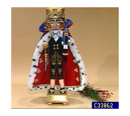 "Steinbach 17 1/2"" Jubilee King Nutcracker"