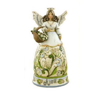 Jim Shore Heartwood Creek April Angel of the Month - C142772