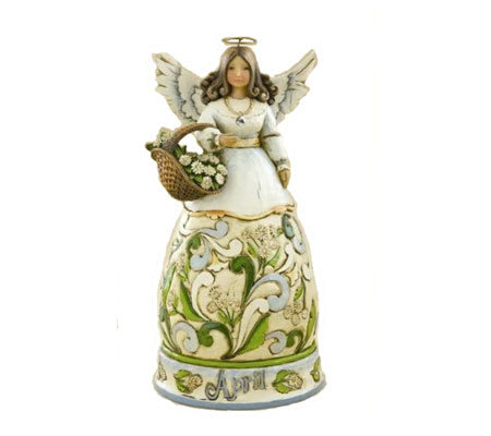 Jim Shore Heartwood Creek April Angel of the Month