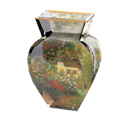 Artis orbis monet artist house glass vase by goebel - Glass art by artis ...