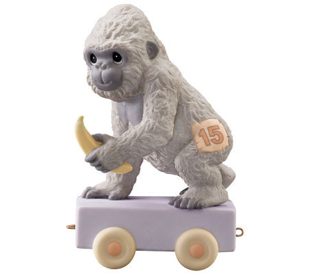Precious moments gorilla age 15 figurine - Gorilla figurines ...