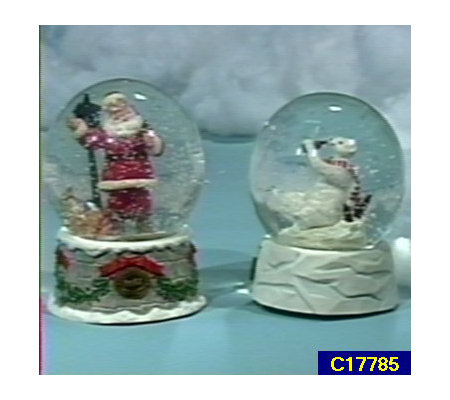 Coca-Cola Polar Bear Musical Snowglobe