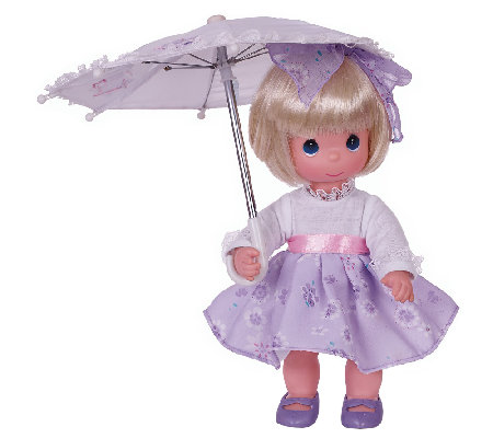 Precious Moments Shower Me with Love Blonde Doll