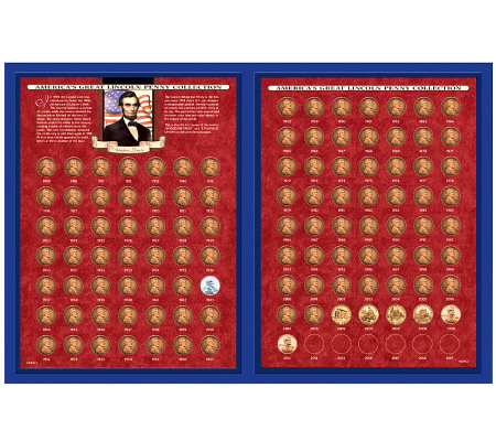 America's Great Lincoln Penny Collection 1909-2011