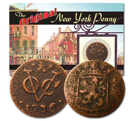 Original New York Penny