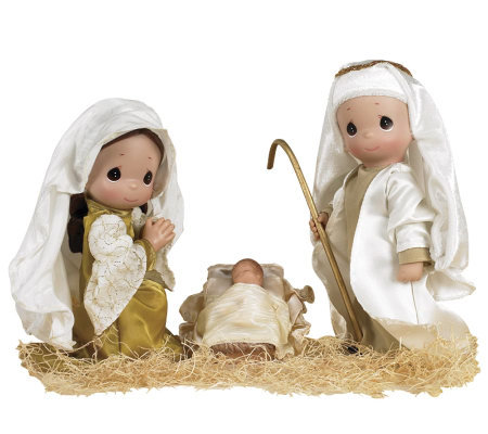 Precious Moments The First Christmas Doll Set