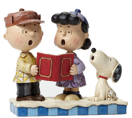 Jim Shore Charlie Brown, Lucy & Snoopy