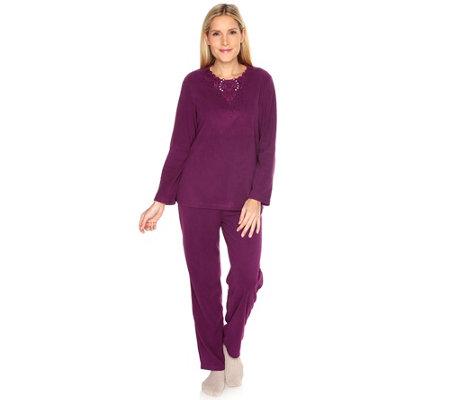 little rose mf flanell pyjama 1 1 l nge 3d stickerei. Black Bedroom Furniture Sets. Home Design Ideas