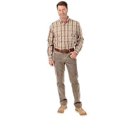 CLUB OF COMFORT Herrenhose Linus Cord-Optik Comfort-Bund