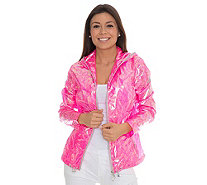 FRIEDA LOVES NYC Jacke Glossy Pink - 135420