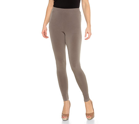 KIM & CO. Brazil-Knit-Jersey Leggings lange Form Rundumdehnbund