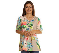 IN-PRINT Shirt Blumendruck - 135229