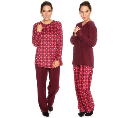 little rose mf flanell fleece pyjamas 1 1 arm karodruck. Black Bedroom Furniture Sets. Home Design Ideas