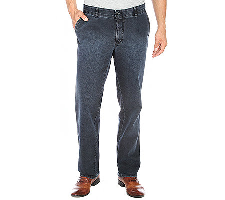 CLUB OF COMFORT Herrenhose Dijon T400-Denim Comfort-Bund