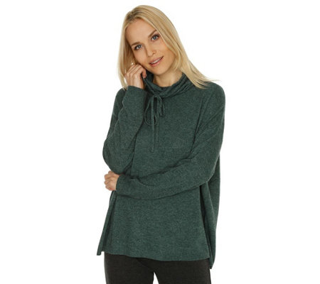 BARBARA BECKER MIAMI FIT Strick Loungeshirt Stehkragen