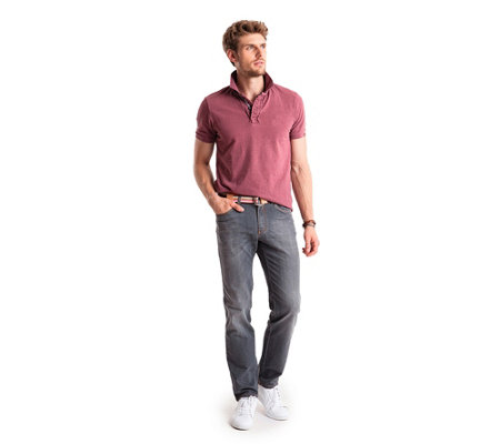 CLUB OF COMFORT® Jeanshose Henry 5-Pocket-Style Light-Denim strapazierfähig
