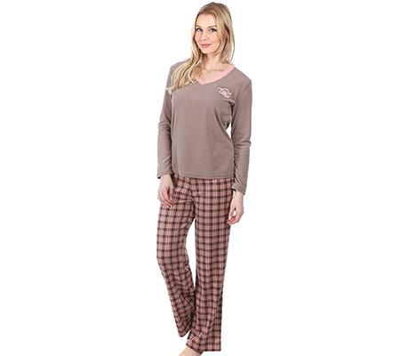 schenkenberg bodywear mf flanell fleece damen pyjama. Black Bedroom Furniture Sets. Home Design Ideas