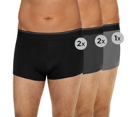 MEN'S TOUCH Mikrofaser Retropants Webgummibund 5er-Pack