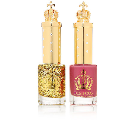 POMPÖÖS DESIGN by Harald Glöckler Luxury Nailpolish Set 2-tlg. Pink Orchid