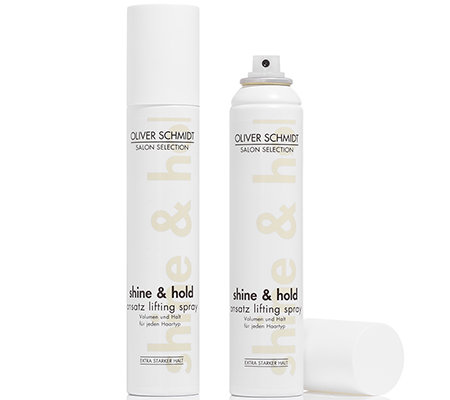 OLIVER SCHMIDT Shine & Hold Ansatz Lifting Spray Duo 2x 200ml