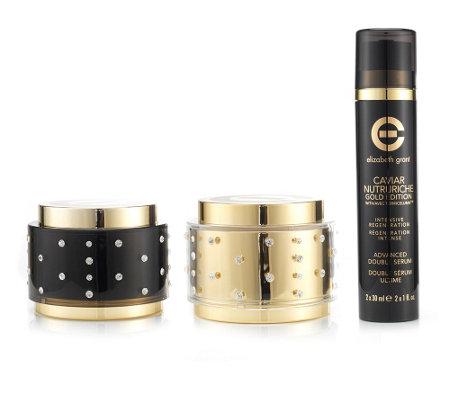elizabeth grant caviar gold edition day cream 100ml night cream 100ml double serum 60ml page 1. Black Bedroom Furniture Sets. Home Design Ideas