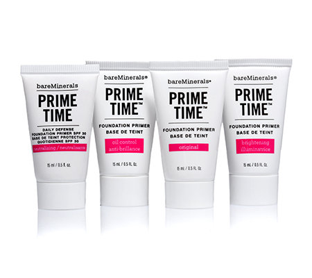 bareMinerals® Prime Time Essentials, Mini Primer Kollektion, 4tlg.