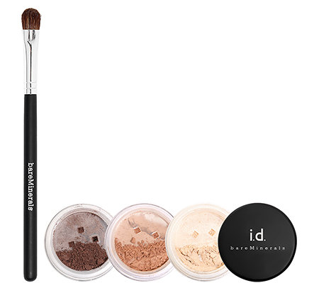bareMinerals Eye Club Lidschatten Set 3-tlg. mit Pinsel