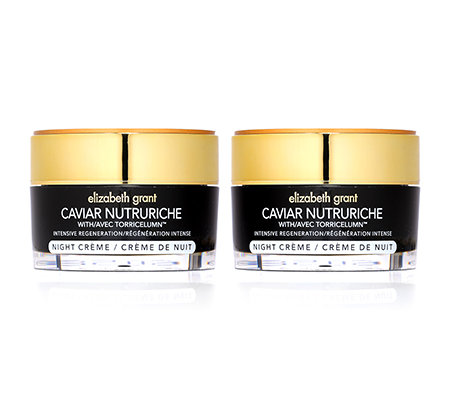 ELIZABETH GRANT CAVIAR Night Cream 2x 50ml