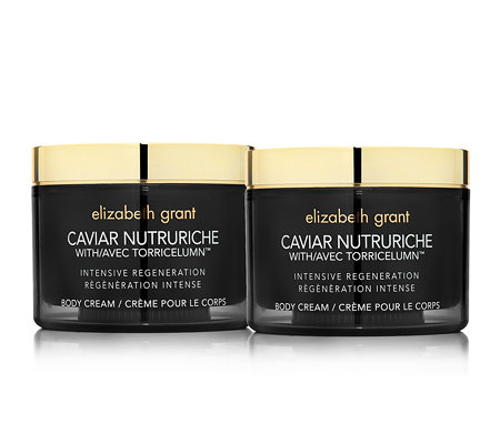 ELIZABETH GRANT CAVIAR Body Cream 2x 200ml