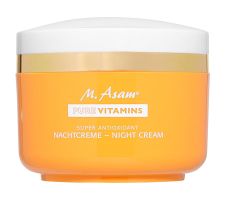 M.ASAM PURE VITAMINS Super Antioxidant Nachtcreme 100ml