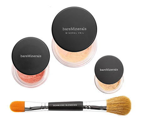 bareMinerals® Your Perfect Light Iluminating Make-up 4-tlg. mit Pinsel