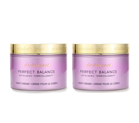 ELIZABETH GRANT PERFECT BALANCE Body Cream 2x 200ml