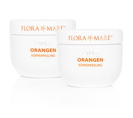 FLORA MARE SPA Orange Körperpeeling-Duo je 300ml