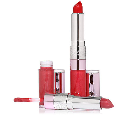 DOLL NO.10 Pop of Pretty Duo Lippenstift & Lipgloss