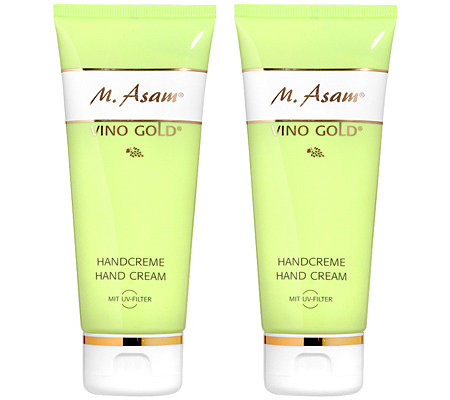 M.ASAM VINO GOLD Handcreme Duo 2x 100ml