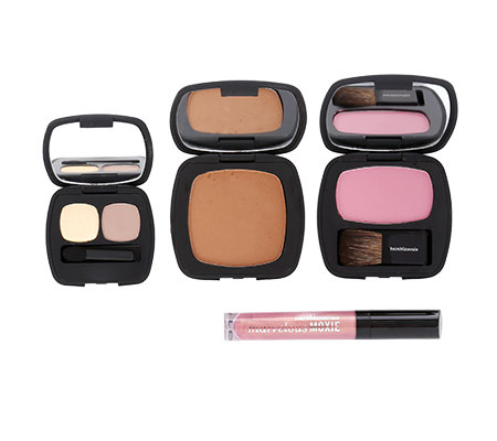 bareMinerals® Eypert Picks Make-up für Augen, Wangen & Lippen, 4-tlg.