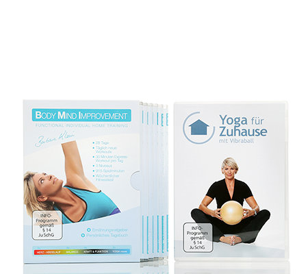 FLEXI-SPORTS Body Mind Improvement Yoga Special mit 7 DVDs